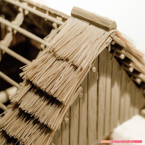 P09.jpg Download STL file 3D printed house - log cabin - cottage • 3D printable template, euroreprap_eu