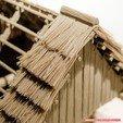 Modelos 3D para imprimir Impreso en 3D - cabaña de troncos - casa rural, euroreprap_eu