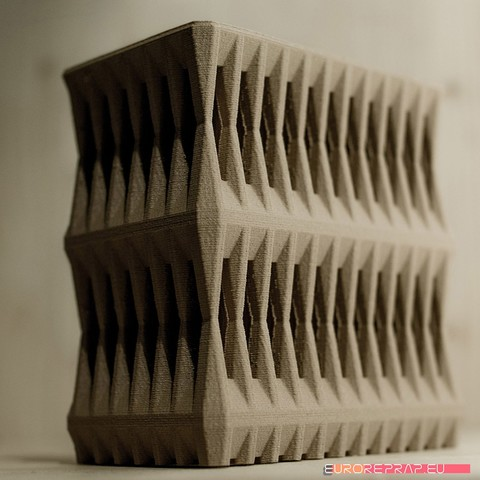 3D file 3D printable architectural exhibition model 02, euroreprap_eu