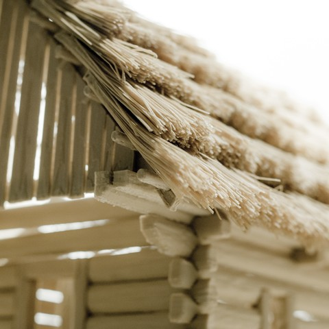 052_DSC1222.JPG Download STL file Straw roof thatching system for log house, cabin, cottage, etc. • Design to 3D print, euroreprap_eu