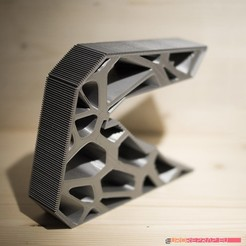 3D printable architectural exhibition model 04 STL file, euroreprap_eu