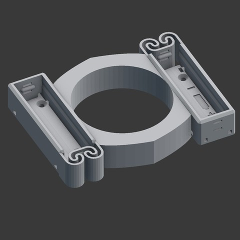 Free 3D print files Holder/container for 2xAA battery , euroreprap_eu