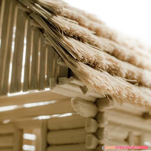 P08.jpg Download STL file 3D printed house - log cabin - cottage • 3D printable template, euroreprap_eu