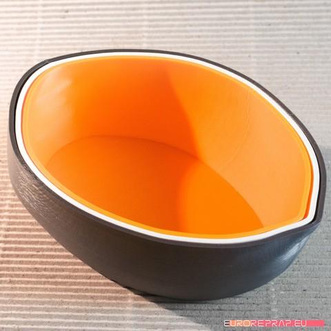 02_DSC3358.jpg Download STL file Handy - stackable bowls • 3D print template, euroreprap_eu