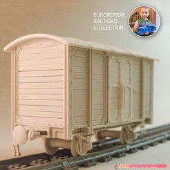 3D printing model Carriage-01 for Euroreprap Railroad System, euroreprap_eu