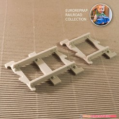 13.jpg Download STL file Complementary tracks set: straight (No3, No4) - Euroreprap Railroad System • 3D printable model, euroreprap_eu