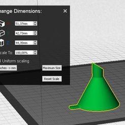 Funil.JPG Download STL file Funnel • 3D printer object, daiana_ga