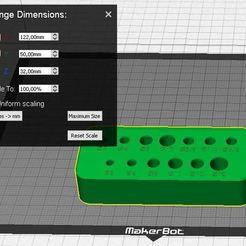 Brocas.JPG Télécharger fichier STL Support de mèche de forage • Plan à imprimer en 3D, daiana_ga