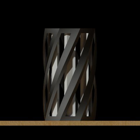 ptpen_3.png Télécharger fichier STL gratuit Porte-plume élégante • Objet pour imprimante 3D, 3dhacks