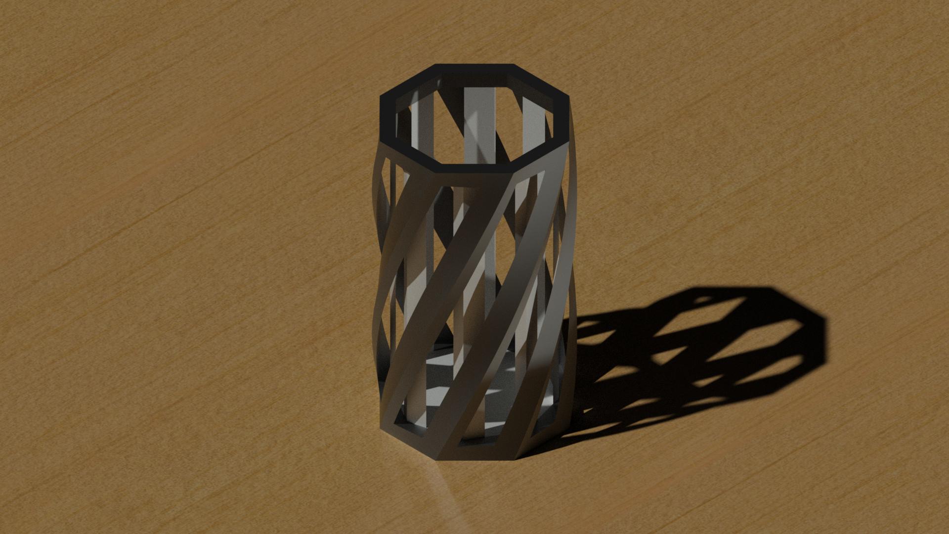 ptpen.png Télécharger fichier STL gratuit Porte-plume élégante • Objet pour imprimante 3D, 3dhacks