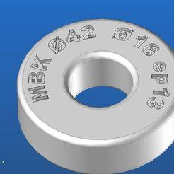 Descargar archivo 3D gratis cojinete falso 42 x 16 x 13 MBK, jp44