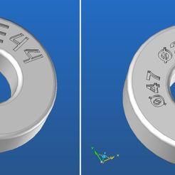 Download free STL file false bearing 47 x 20 x 14 PEUGEOT • 3D printable object, jp44
