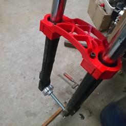 Download free STL file mudguard for paioli fork 51 • 3D printer design, jp44