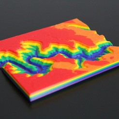 Download free 3D printer model Modeling Topography and Erosion with 3D Printing, roberthemlich