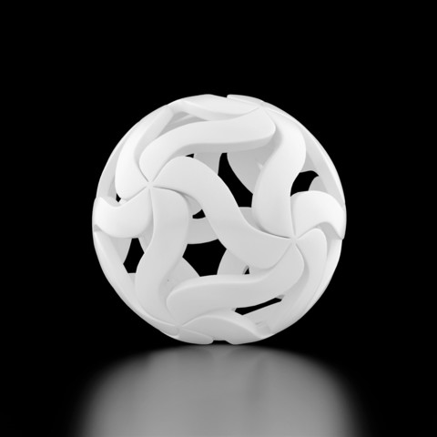 Download 3D printer model Pendant Flower Ball, siSco