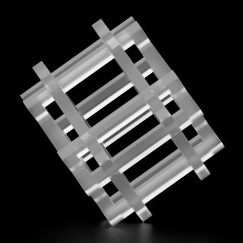 Free 3D printer designs SquareMix 0, siSco