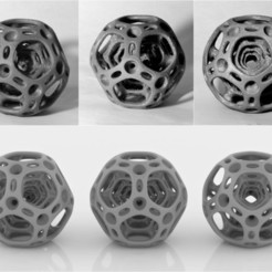3D printer file Dodecahedron, siSco