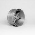 Download STL file CarRim Pendant • 3D print model, siSco