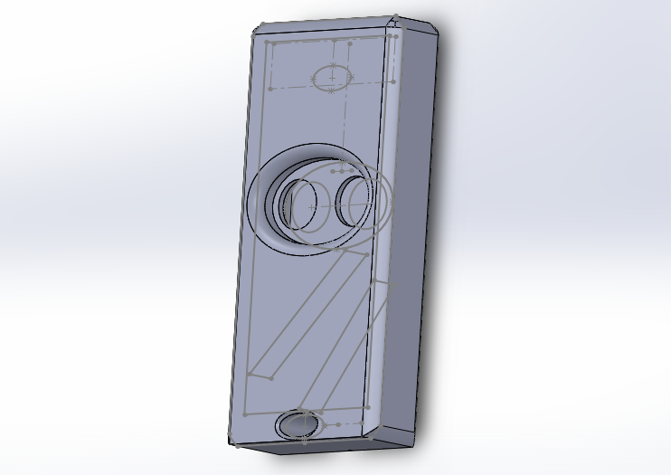 Photo Général.png Download free STL file Remote control CAME 2 Buttons • 3D printer object, W-22