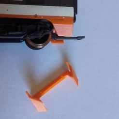Photo.JPG Download STL file TGV Lima Rear skirt • 3D print object, BBL
