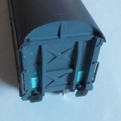 monte.JPG Download STL file Buffer for freight wagon JOUEF • Object to 3D print, BBL