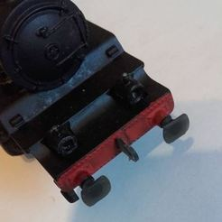 131.JPG Download STL file Hornby-acHO buffer for 131T, 030T... • 3D printable template, BBL