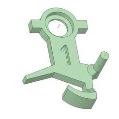 "CAD.JPG Download STL file HOrnby-acHO hitch set ""Standard nylon"". • 3D print design, BBL"