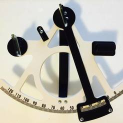 Free 3D printer designs Sextant, Ufon