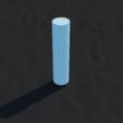 TubeQ solid.png Download STL file Tube Q  • 3D print design, Ufon