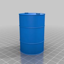 Descargar modelos 3D gratis Escala de Barril 1/16 (remezclado), ONE16Customs