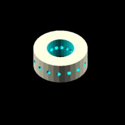 Descargar modelo 3D gratis radio de cubo de la rueda, Rias3d