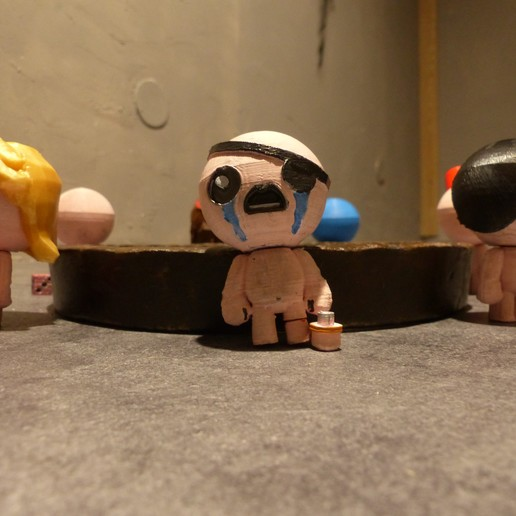 P1000926.JPG Download free STL file All Binding of Isaac Characters • 3D printer design, conceptify