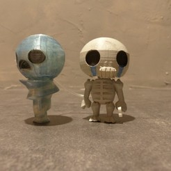 Download free 3D printing files All Binding of Isaac Characters, conceptify