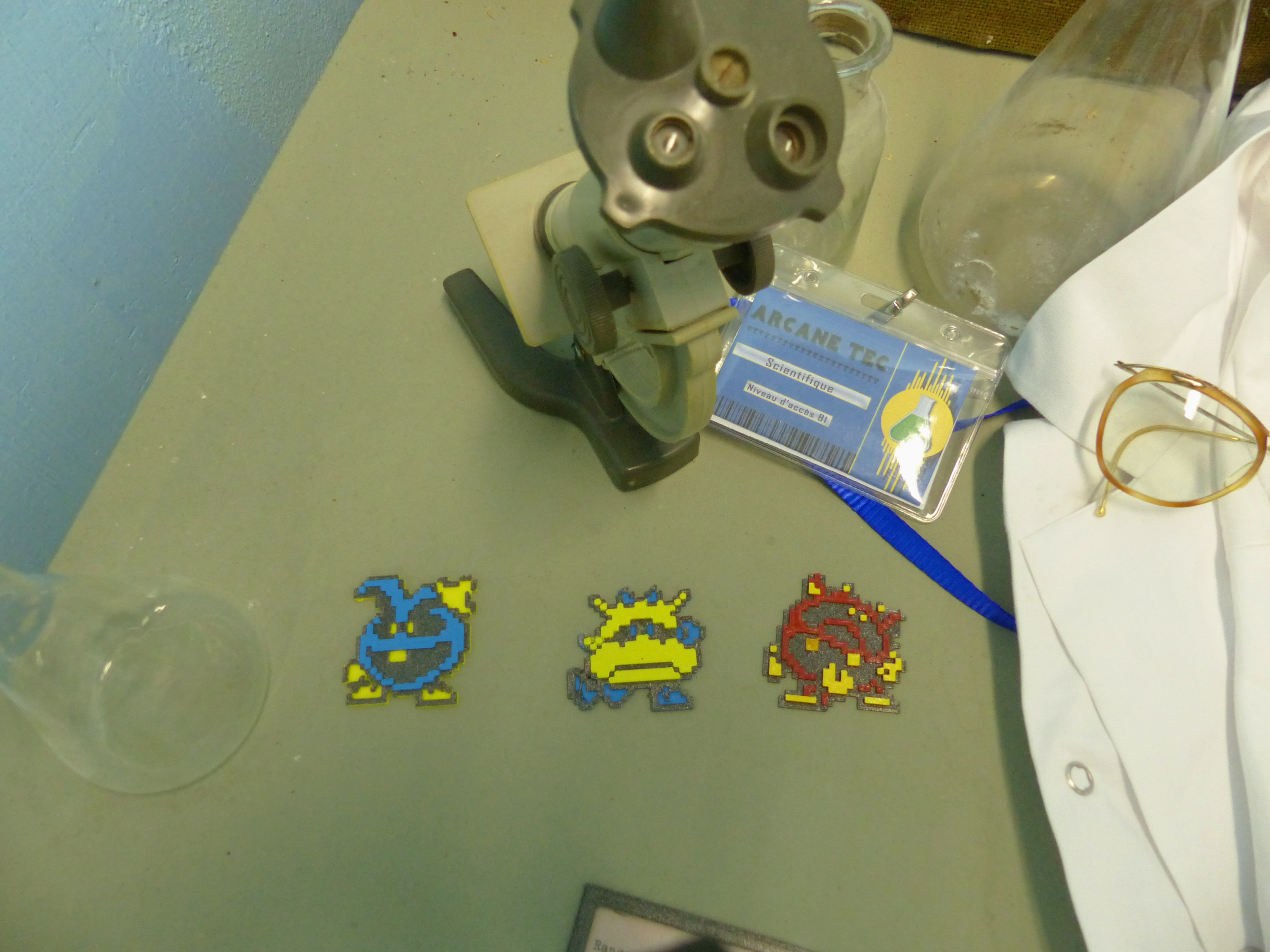 Sprite_Dr_Mario_2.jpg Download free STL file Dr Mario virus 8 bits sprite (multilayer) • 3D printing object, conceptify