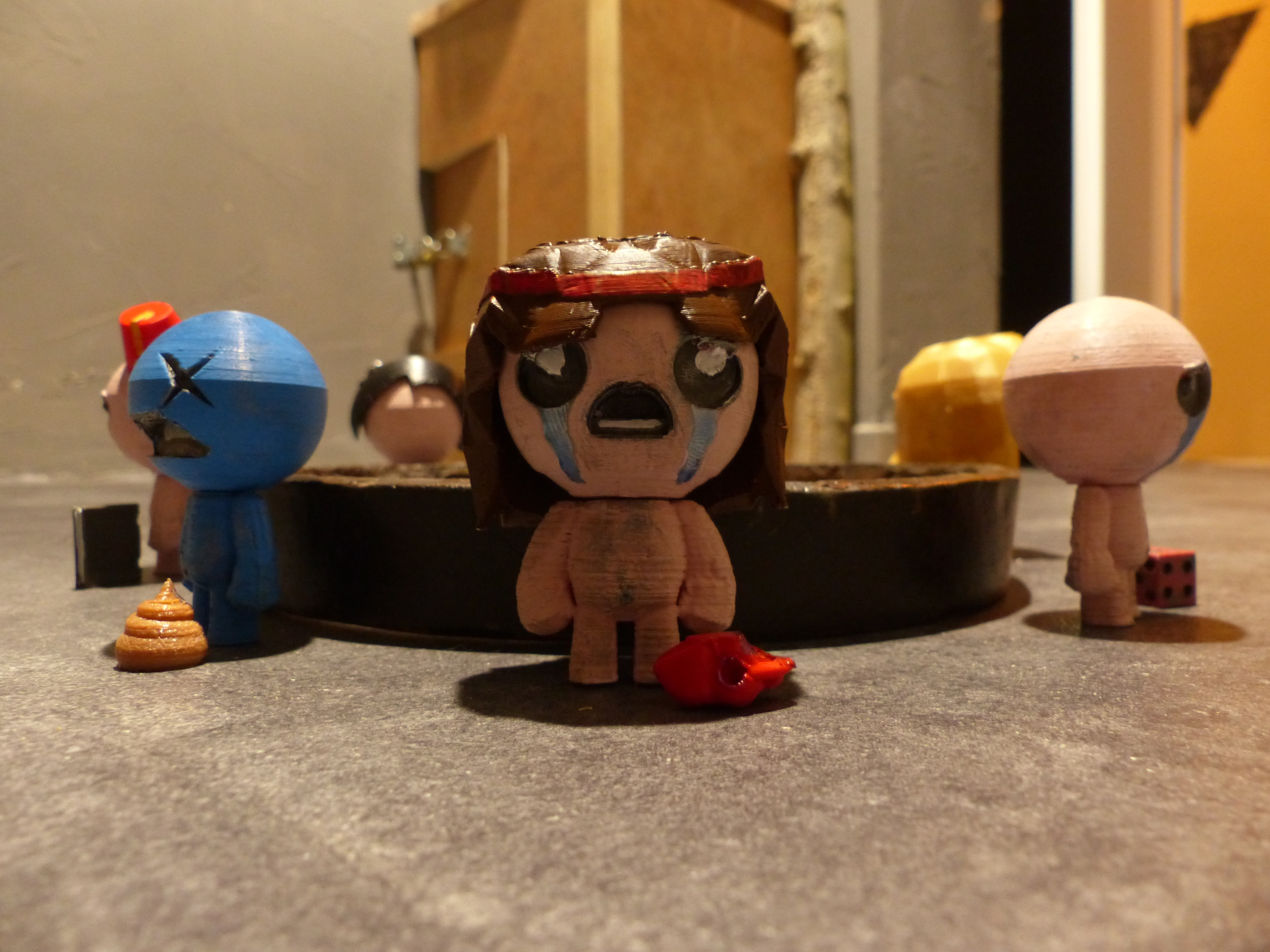P1000923.JPG Download free STL file All Binding of Isaac Characters • 3D printer design, conceptify