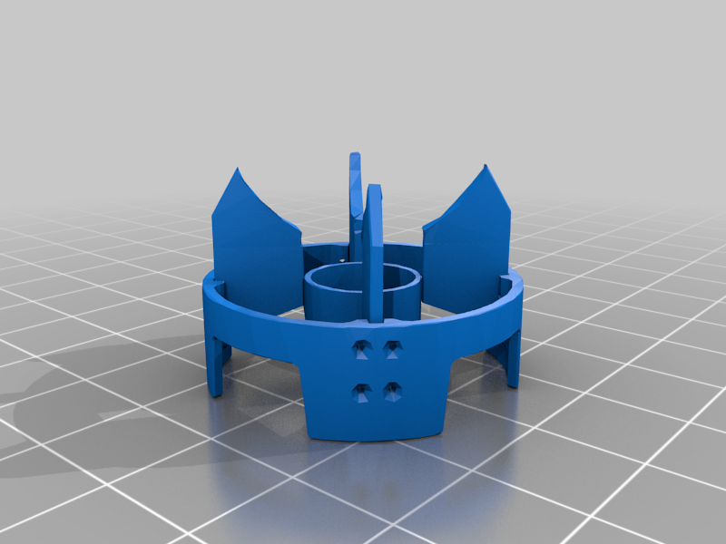 Wings.png Download free STL file Tiny Nuke - unexploded Mini Nuke (possible magnet) • Template to 3D print, conceptify