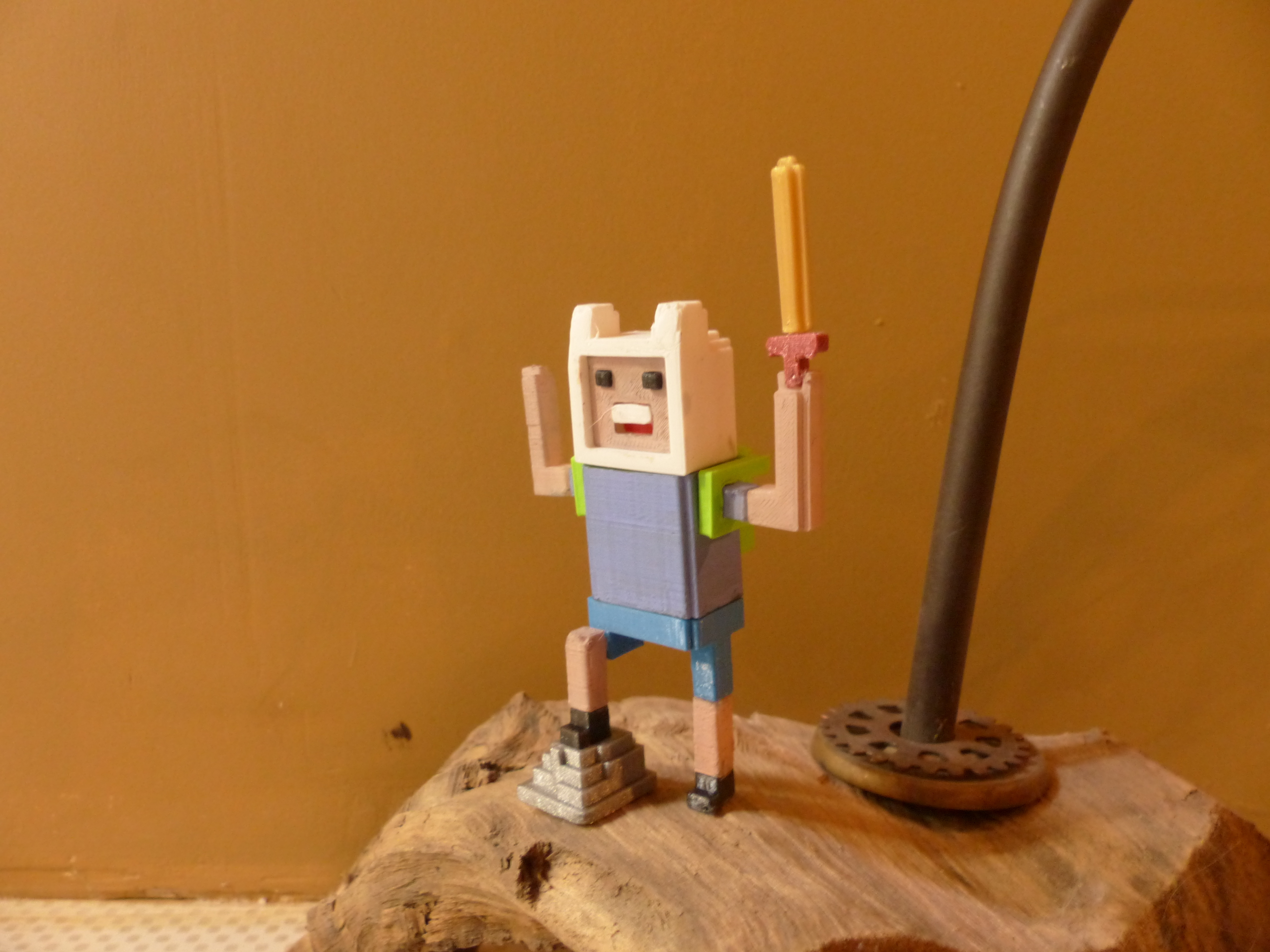 P1020896.JPG Download free STL file Voxel-style «Adventure Time» character figures • 3D print design, conceptify