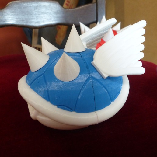 P1010750.JPG Download free STL file Smaller Koopa Shells • Design to 3D print, conceptify