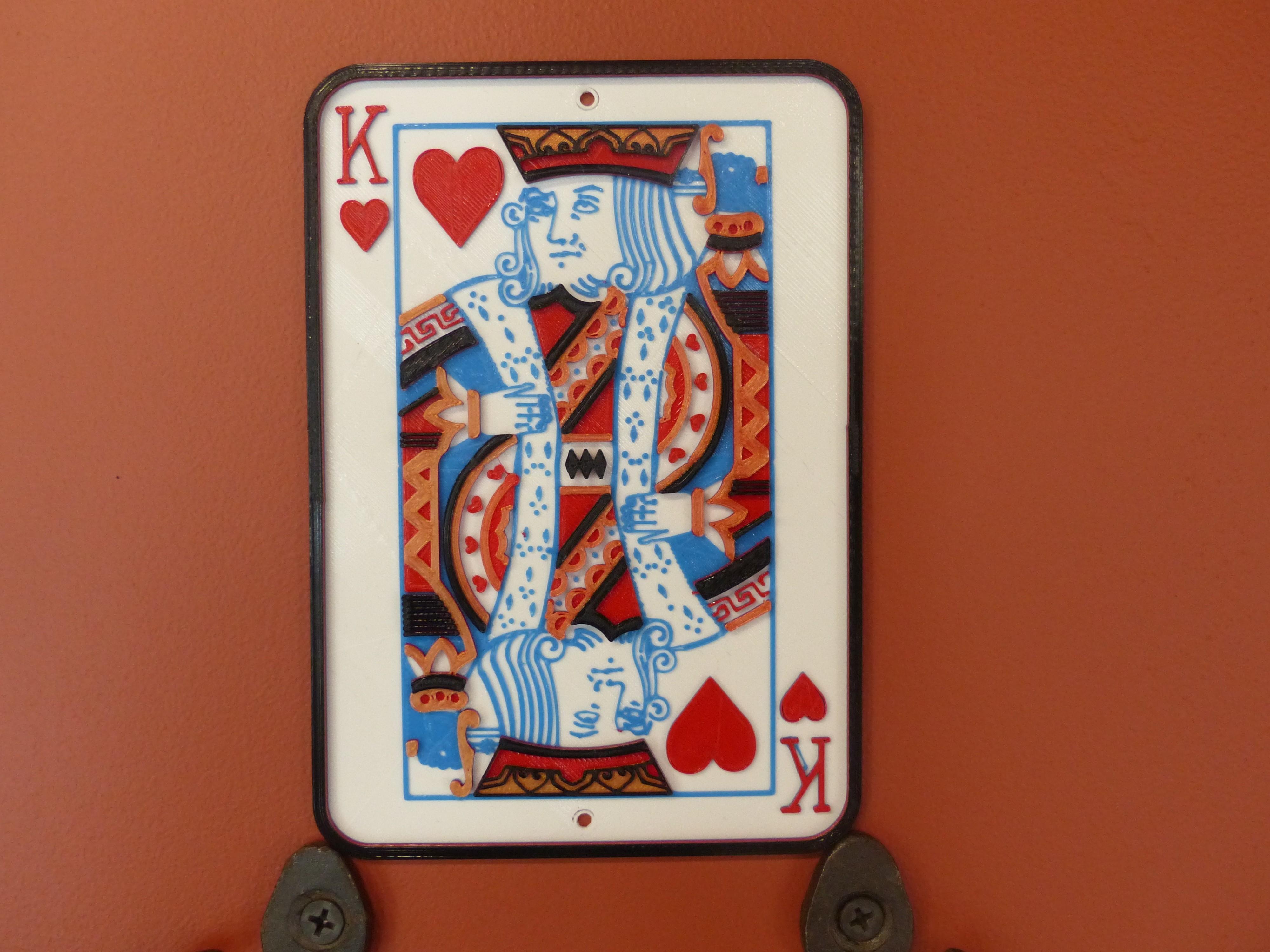 P1010201.JPG Download STL file King of Hearts Frame • 3D printable design, conceptify