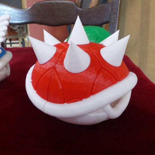 P1010752.JPG Download free STL file Smaller Koopa Shells • Design to 3D print, conceptify