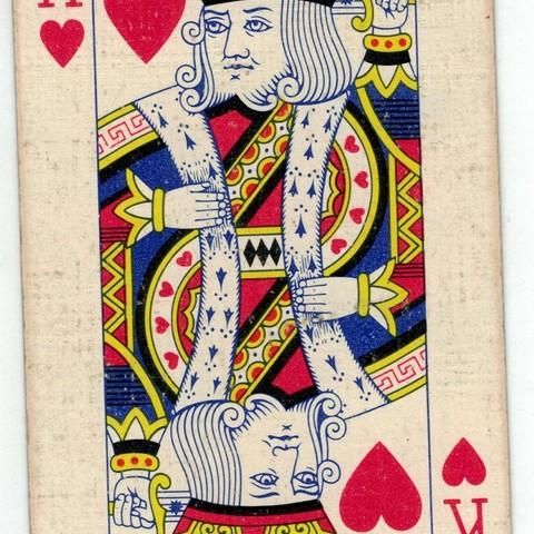 Scann roi de coeur.jpg Download STL file King of Hearts Frame • 3D printable design, conceptify