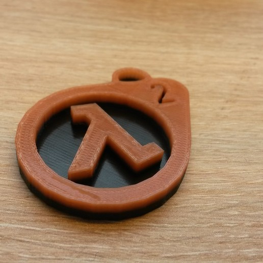 20161105_124452.jpg Download free STL file Porte-clefs Half-Life 2 • Template to 3D print, conceptify