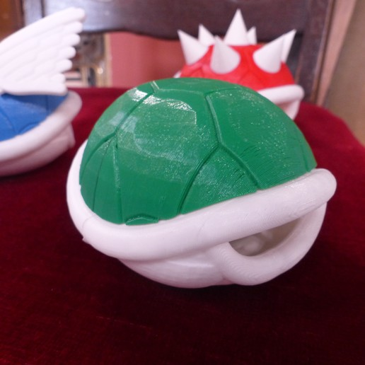 P1010751.JPG Download free STL file Smaller Koopa Shells • Design to 3D print, conceptify