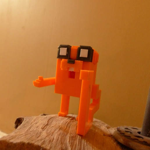 P1020893.JPG Download free STL file Voxel-style «Adventure Time» character figures • 3D print design, conceptify