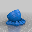 Bottom_part_with_crater.png Download free STL file Tiny Nuke - unexploded Mini Nuke (possible magnet) • Template to 3D print, conceptify