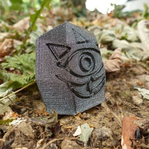 Download free STL file Low poly Gossip stone (Zelda) • 3D print design, conceptify