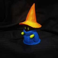 Download free 3D printing files Black Mage Remix (Separate Parts), conceptify