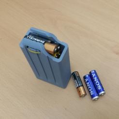 Download free 3D printing files Battery Pack, maakmake
