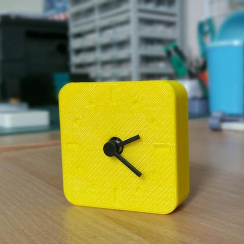Download free 3D printing designs  miniclock ver1, maakmake