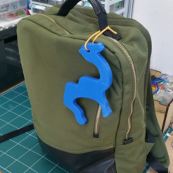 Free 3d printer model Camel Partition Hanger 1, maakmake